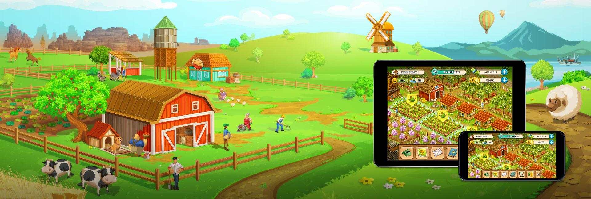 Big Farm Mobile Harvest Goodgame Studios
