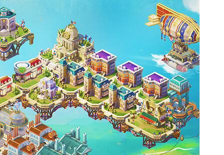 Skytopia - city