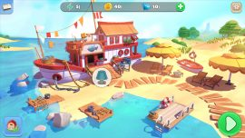 Big Farm: Home & Garden - Boat