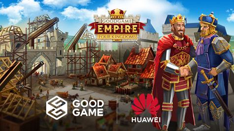 Goodgame Studios cooperates with Huawei