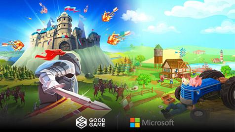 Goodgame Studios and Microsoft enter collaboration